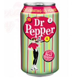 Dr. Pepper Real Sugar (Доктор Пеппер) 0.355л