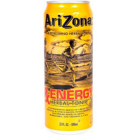 Холодный чай Arizona RX Energe Herbal Tonic, Травяной Тоник 0,68 л