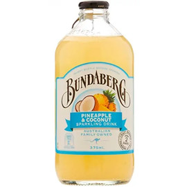 Напиток «Bundaberg» Pinapple & Coconut - Ананас и Кокос, 0.375л
