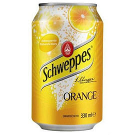 Напиток Schweppes Orange 0,33лх 24шт. ж/б Производство: ЕС
