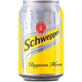 Напиток Schweppes Indian Tonic 0.33л